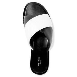 NWOT Rag & Bone Keaton Leather Slides